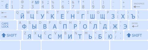 Online Klaviatura Russkaya - фото 11